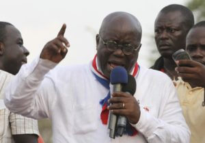 Ghana's new president sworn in