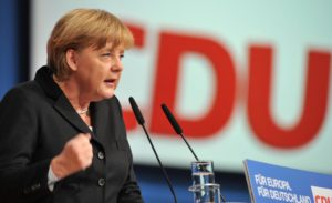 Merkel receives poll boost