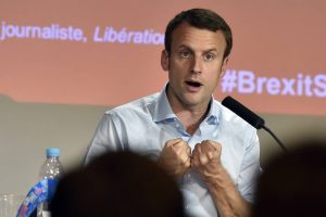 Macron visits UK to rally French expats