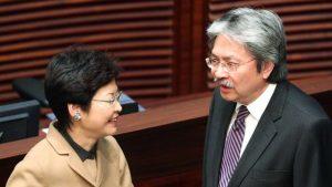 Race for Hong Kong chief begins