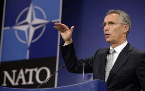 NATO? NATO! Trump hosts Stoltenberg