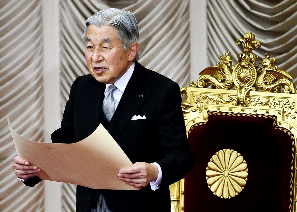 An ageing monarch in an ageing land: Japan's cabinet to approve abdication law