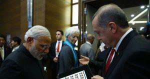Converging interests: Turkey's president in New Delhi