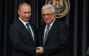 Momentum for peace talks builds: Palestine's President Abbas meets Putin