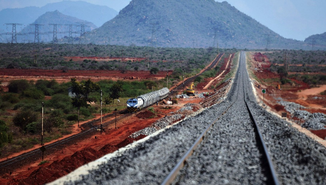 Chinese-funded railway inaugurated in Kenya