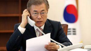 South Korea's Moon meets Trump at White House