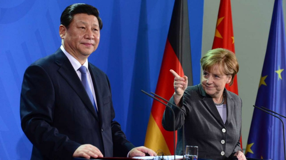 Merkel and Xi meet to lay foundations for G20 talks