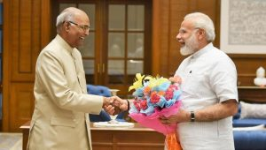 India elects a new president