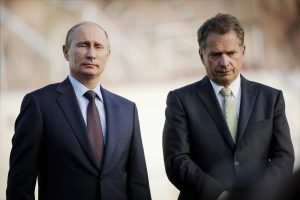 Vladimir Putin visits Finland