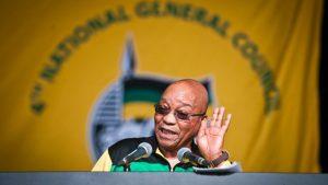 Jacob Zuma faces anonymous confidence motion