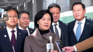 South Korea's ruling party chief urges action against North Korea