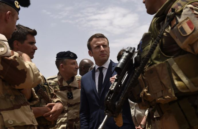 President Macron arrives in Niger to advance plans for Sahel counter terrorism force