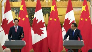 Free trade negotiations top of mind for Canadian Prime Minister during state visit to China
