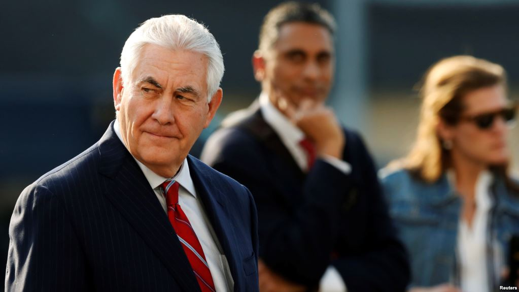 Rex Tillerson: Venezuelan Military May 'Manage a Peaceful Transition'