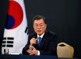 South Korea's ruling party to launch bid to amend constitution