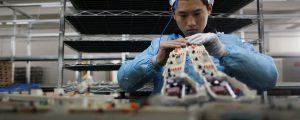 Chinese economic data expected to show an uptick in manufacturing activity for March