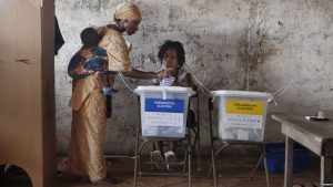 Sierra Leone votes to replace incumbent president