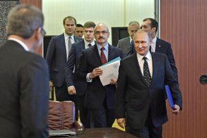 Vladimir Putin headed for certain re-election in presidential vote