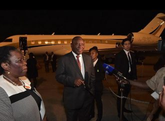 South Africa's Ramaphosa goes to Botswana for first presidential trip