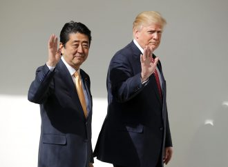 Japan's Abe seeks Trump's assurance on North Korean denuclearisation, missiles