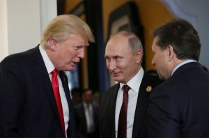 Trump and Putin meet for long awaited summit as US special counsel files new indictments