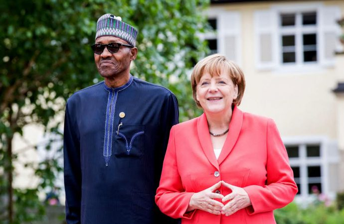 Strengthening trade ties a key issue when Germany's Merkel visits Nigeria