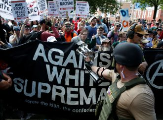 Extremist Unite the Right and counter-demonstrators gather in Washington D.C.