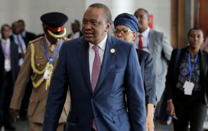 Kenyan president arrives in Washington for bilateral talks regarding South Sudan