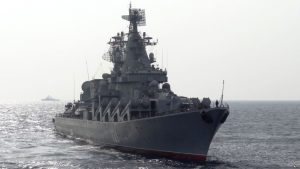 Russia holds Mediterranean naval drills in support of the Assad regime's final push