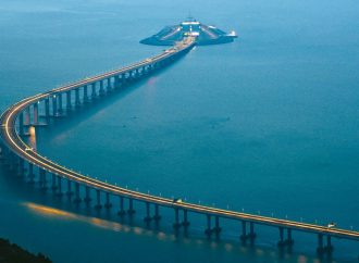 China to open the world's longest bridge connecting Hong Kong, Macau and Zhuhai