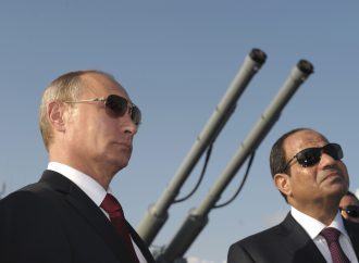 Egypt's president arrives in Russia for talks with Putin as ties strengthen