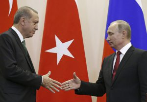 Putin and Erdogan meet to discuss TurkStream pipeline