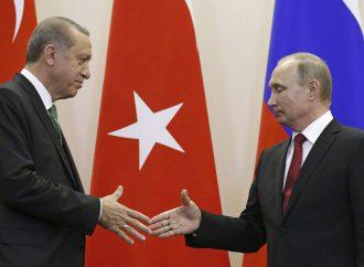 Putin and Erdogan meet to discuss TurkStream pipeline