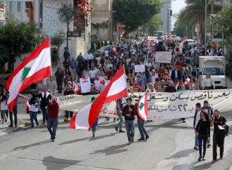 Beirut demonstrations protest political failure to form government
