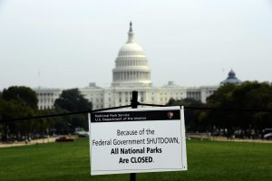 US federal shutdown bites as employees miss first pay check
