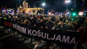 Anti-government protests expected to continue in Serbia