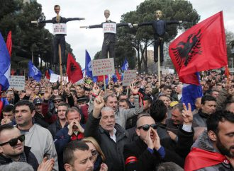 Albanian opposition to rally against government over judicial reforms and accusations of election-rigging