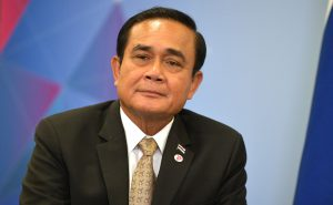 Prime Minister of Thailand Prayuth Chan-o-cha. / Thailand election