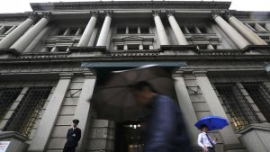 Bank of Japan expected to wait-and-see as clouds gather over global economy