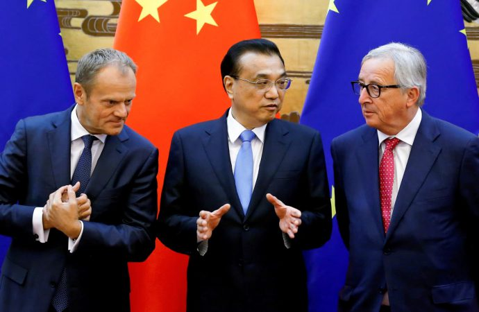 EU foreign ministers meet ahead of anticipated shift in policy towards China