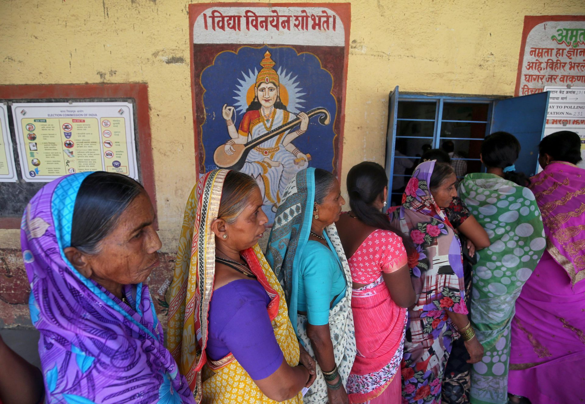 Indian phase four elections likely to indicate final electoral