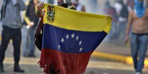 protests venezuela russia