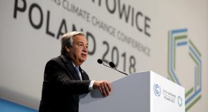 UN secretary general stresses global climate inaction on South Pacific tour