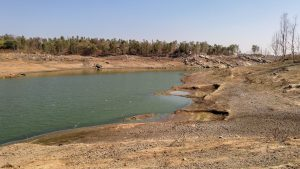 Historic drought affects Indian water security