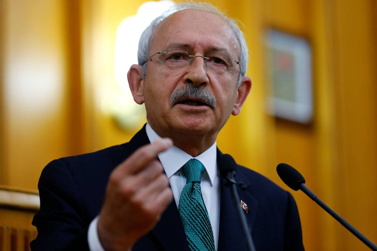 Kemal Kilicdaroglu chairman of Turkeys largest opposition party