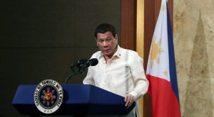Stuck in the middle: Duterte, China and the US
