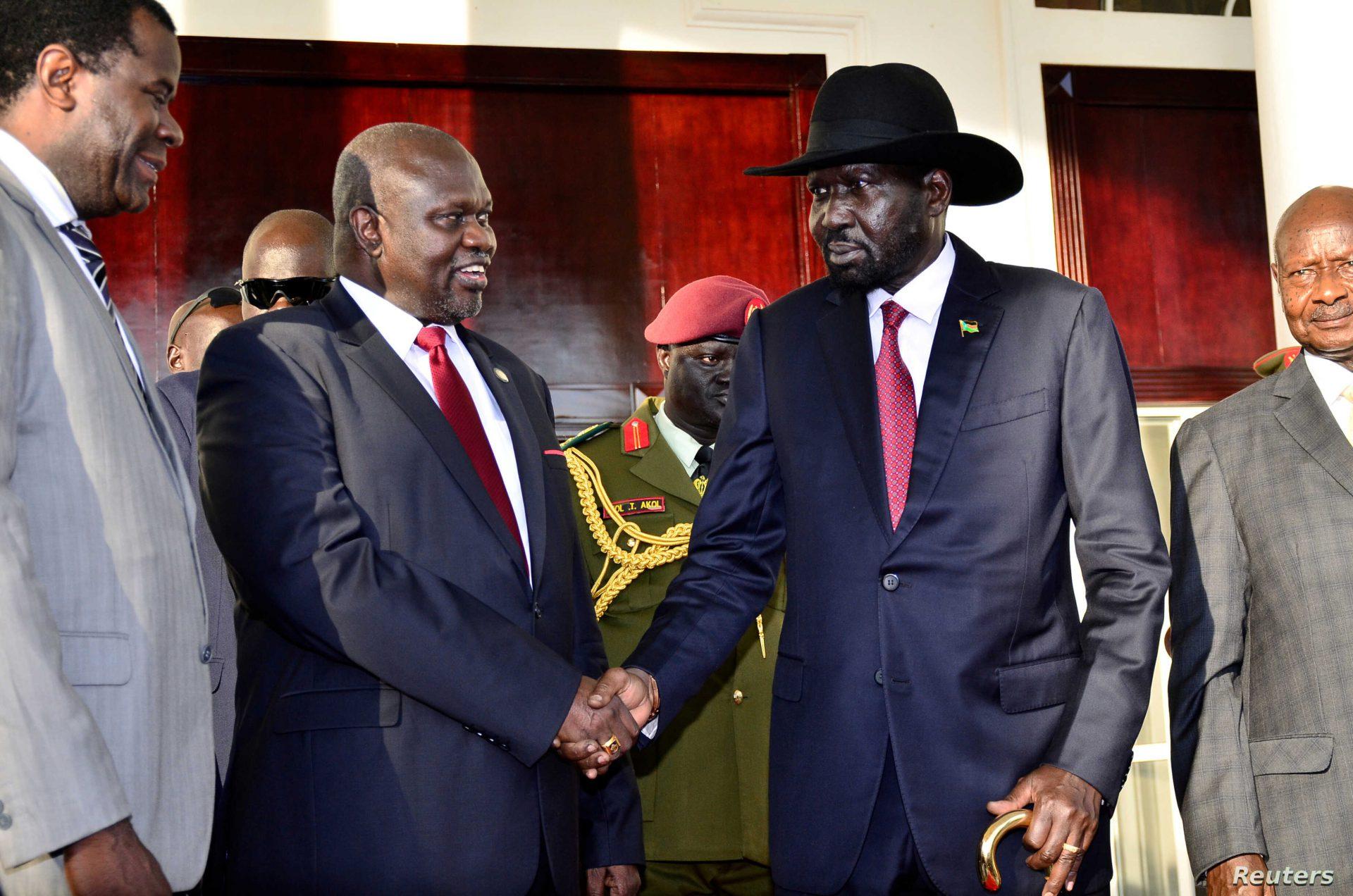 South Sudan leadership