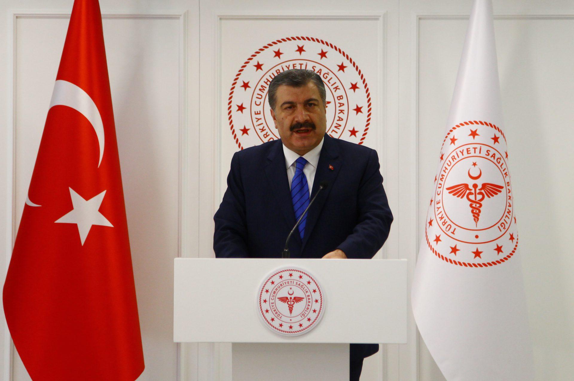 Turkish health minister