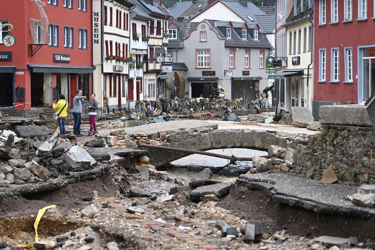 German flood relief
